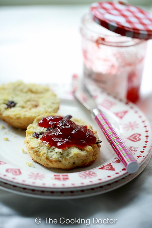 cranberry orange scones-4