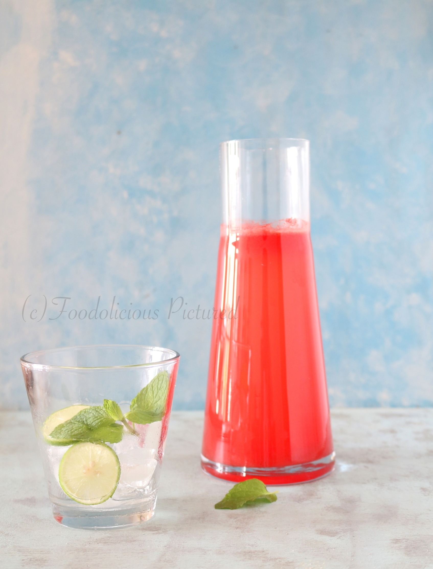 Watermelon limeade – Foodolicious Pictured